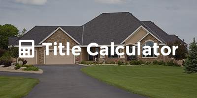 Calculate Title Fees